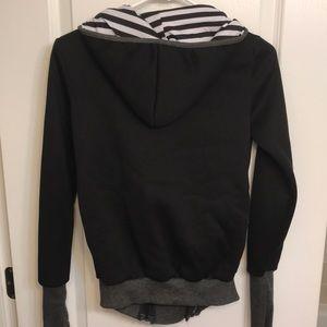 Jackets & Coats - Hooded baby kangaroo pouch zip up